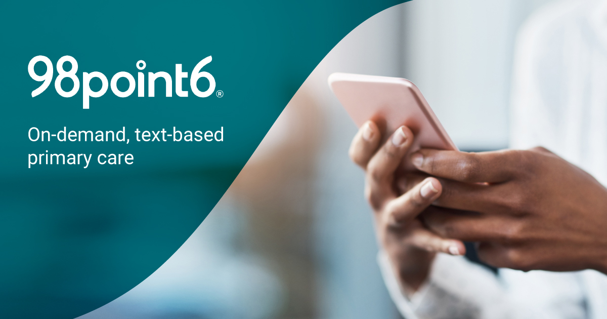 On-Demand Text-Based Primary Care App | 98point6