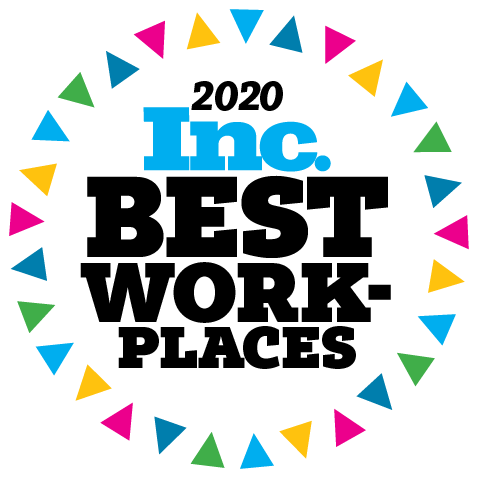Logo for Inc. Best Workplaces 2020